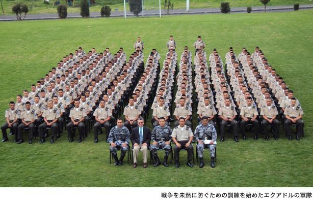 エクアドルの軍隊