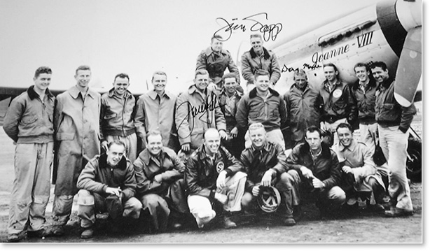 第二次世界大戦のパイロット仲間