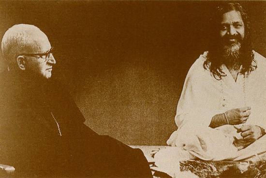 maharishi and abbot1964-1