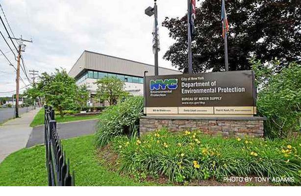 キングストンにあるニューヨーク市環境保護局本部
