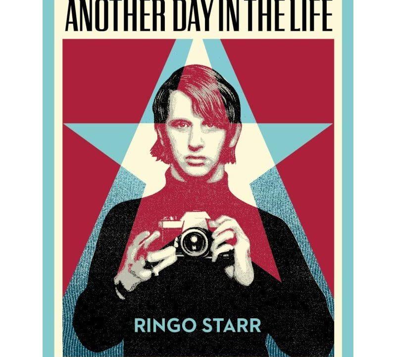 リンゴ・スターの写真集の表紙