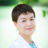 愛媛連絡オフィスの超越瞑想教師の横山千佳子の写真